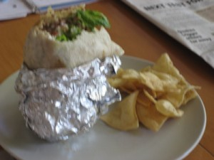 Badly Wrapped Burrito